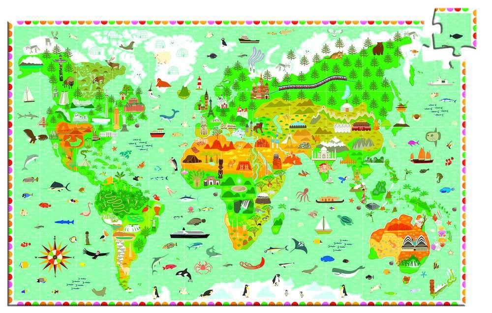 פאזל חוברת 200-מקום בעולם