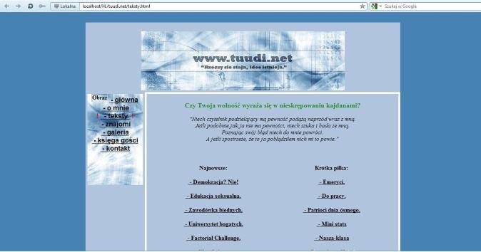 Tuudi.net w roku 2006