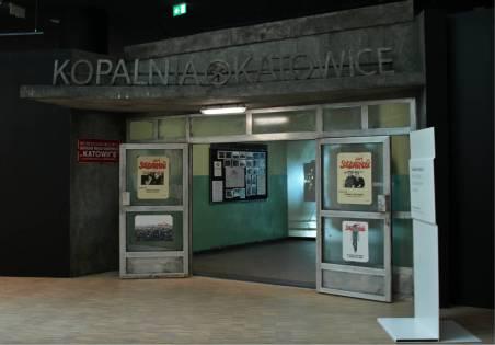 Wejście na wystawę historyczną