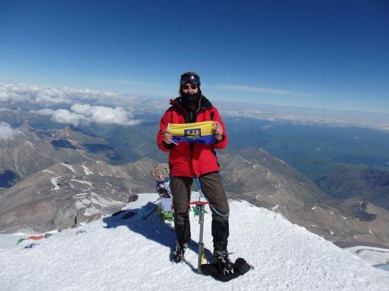 Kaukaz 2014 - najwyzszo gora w Europie Elbrus 5642 m. Peter Bienia