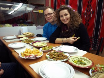 Obiad w sercu Jerozolimy