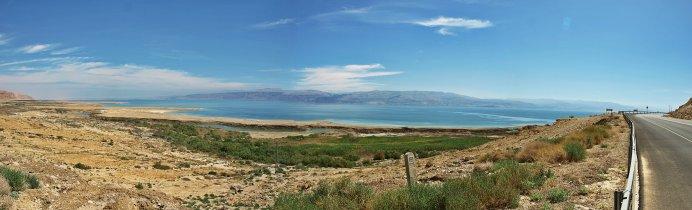 Droga brzegiem Morza Martwego