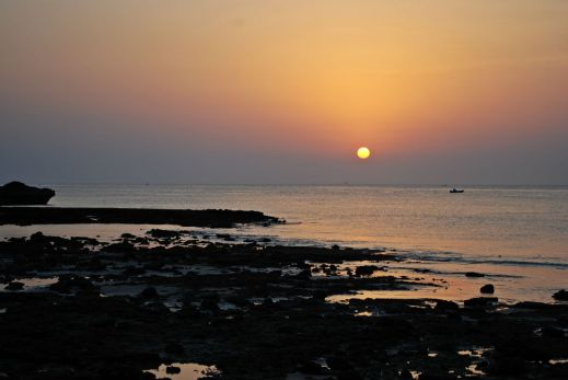 Zachód słońca w Maskacie