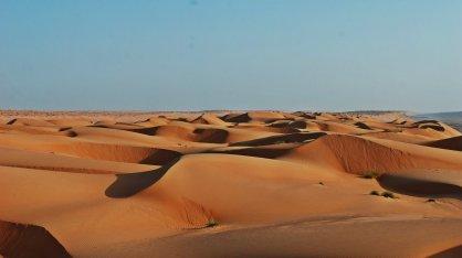 Widok na pustynię