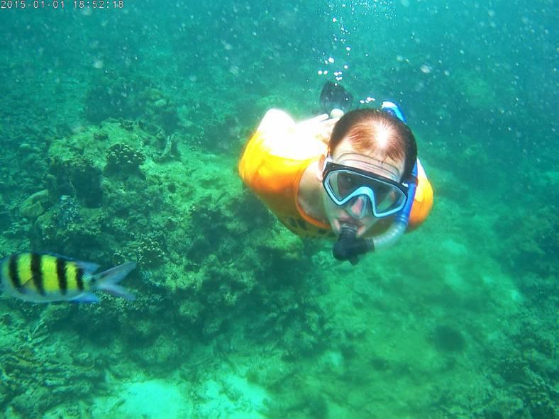 snorkeling Ko Rok