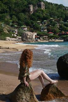 Ruda na Tanote Beach