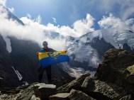 Mont Blanc, lodowiec Tete Rousse, 2018 r. Marcin Bartosz