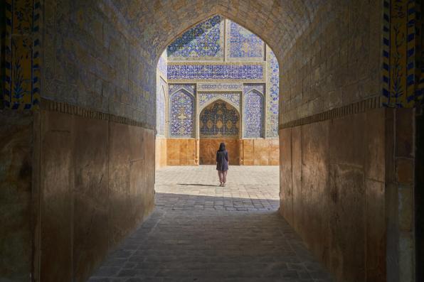 Wewnątrz meczetu