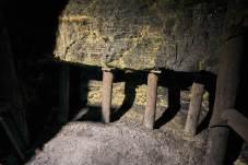 Wyrobisko węgla - dokładnie takie jak w XIX wieku.