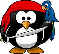 pirate tux penguin