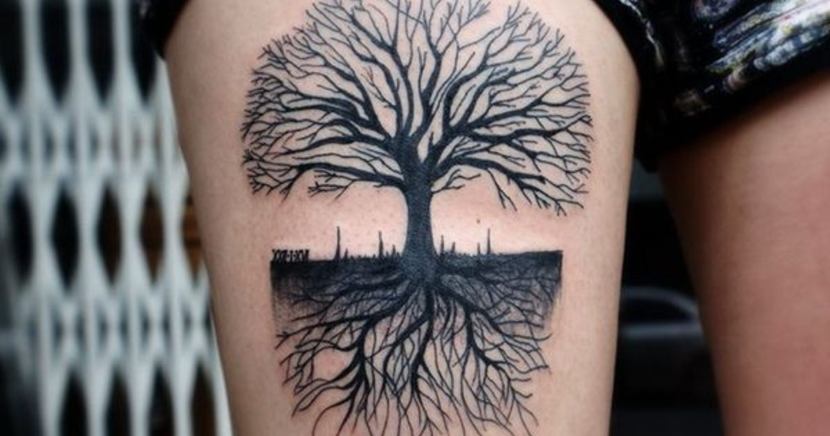 Todo Sobre Los Tatuajes De árboles Significado Diseño Ideas Y