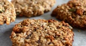 Helpot ja nopeat gluteenittomat kaurakeksit