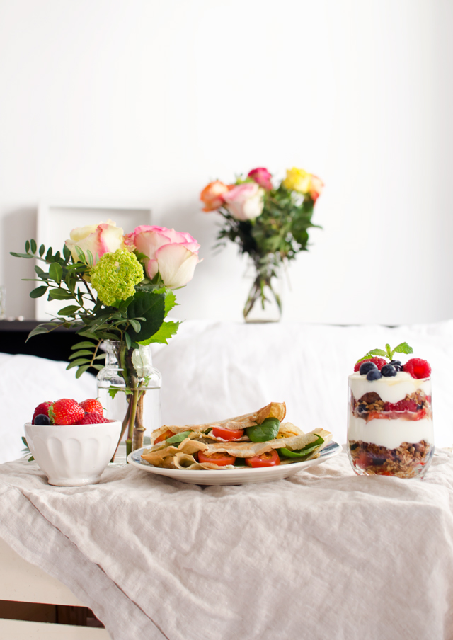 mother's day breakfast in bed | tuulia talvio