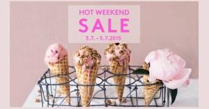 Hot Weekend Sale – nappaa alekoodi jäätelökirjaan!