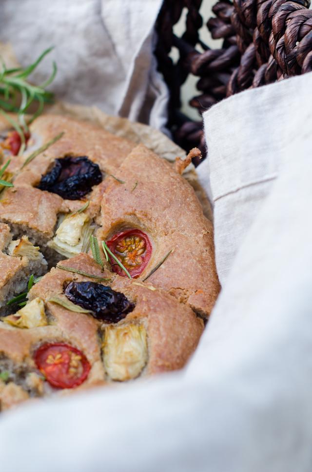 gluten free focaccia