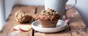 Pumpkin Apple Muffins (gluten + dairy free)