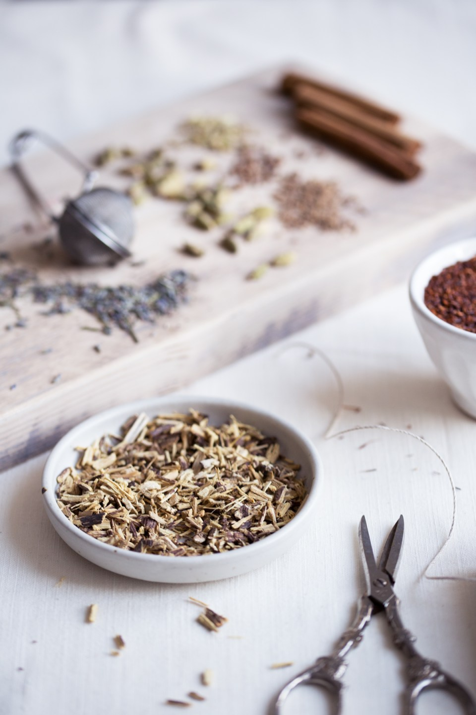 Homemade Herbal Tea Blends