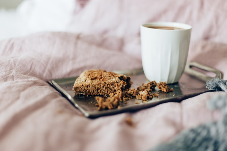 Sundays in Bed: Gluten-free Pear & Pecan Scones | tuulia blog