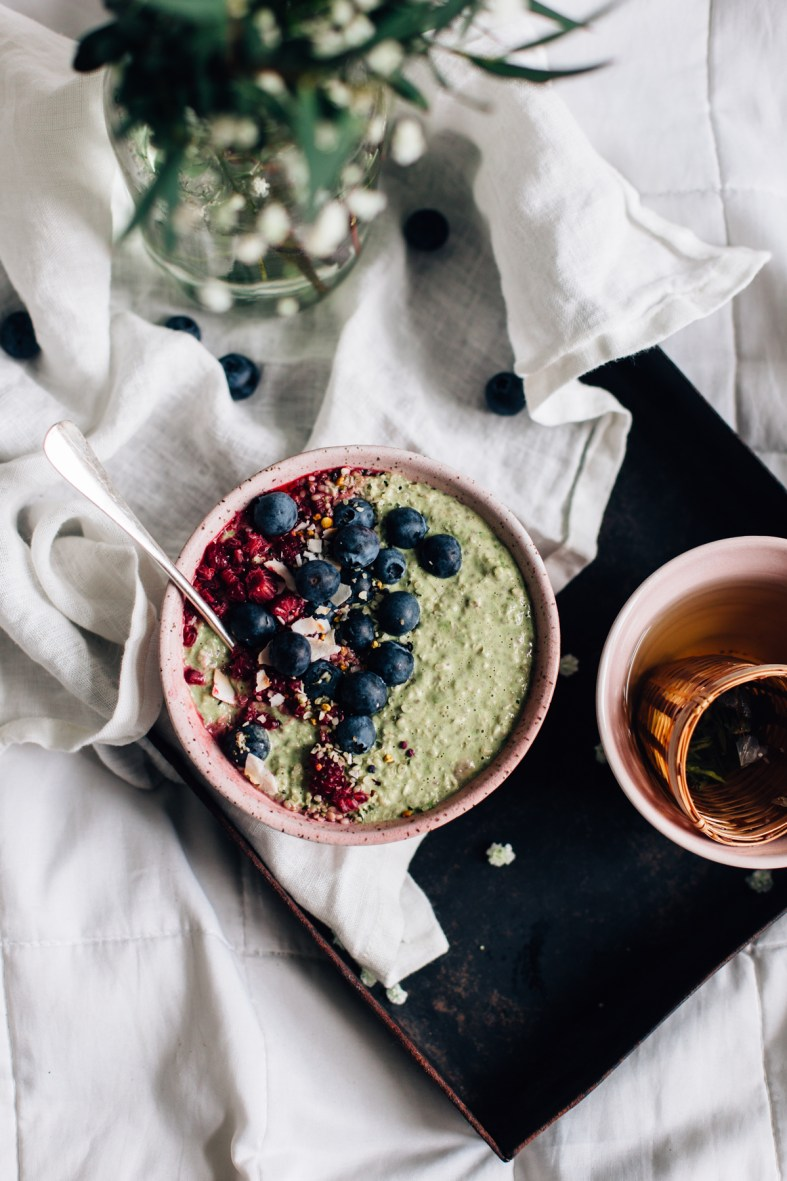 Matcha Overnight Oats (GF + V) | tuulia blog