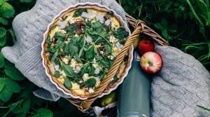 Autumn flavors: Gluten-free Mushroom Pie
