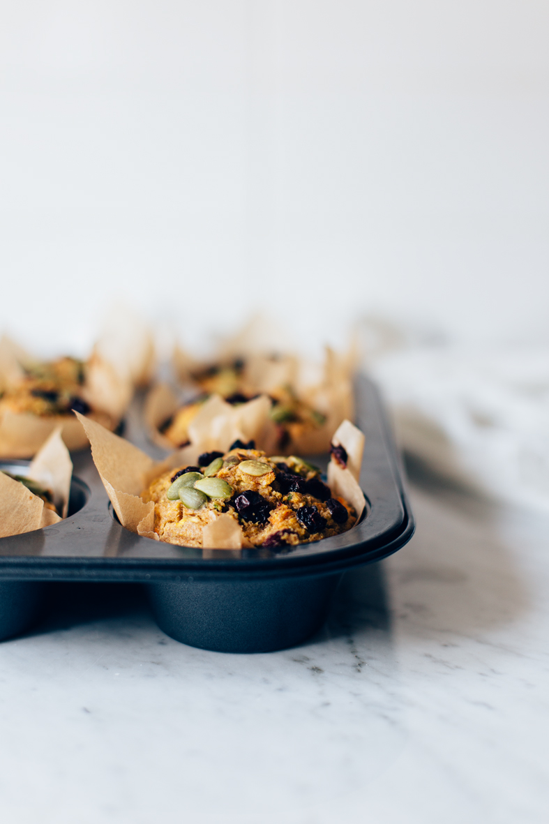 Healthy Breakfast Muffins (GF + vegan option)   tuulia blog