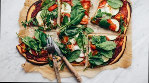Easy Chickpea Flour Pizza
