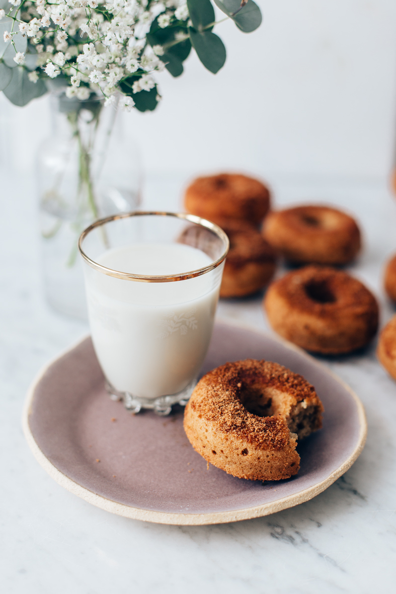Oven Baked Donuts (gluten-free + naturally sweetened) | tuulia blog