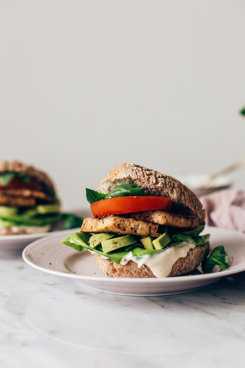 gluten-free and vegan tofu burgers | tuulia blog