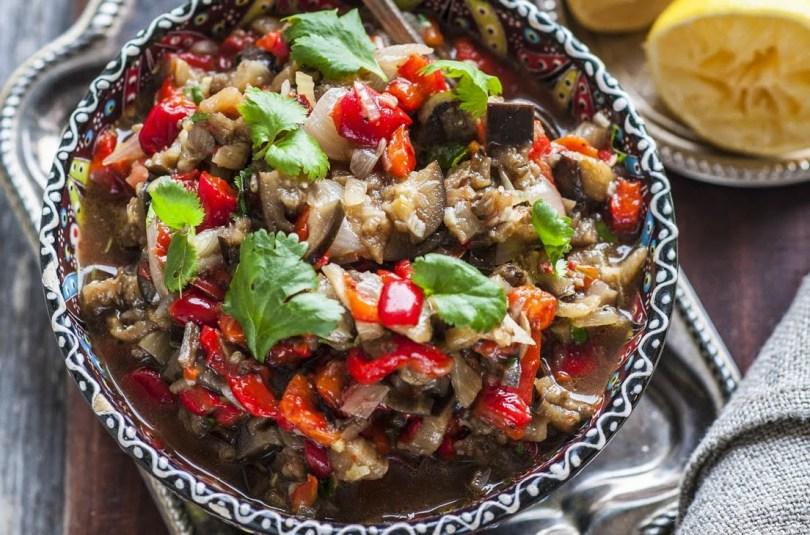 Midagi tõeliselt head köögiviljasõpradele. Ahjupaprika ja -baklažaan, määrdena ja salatina