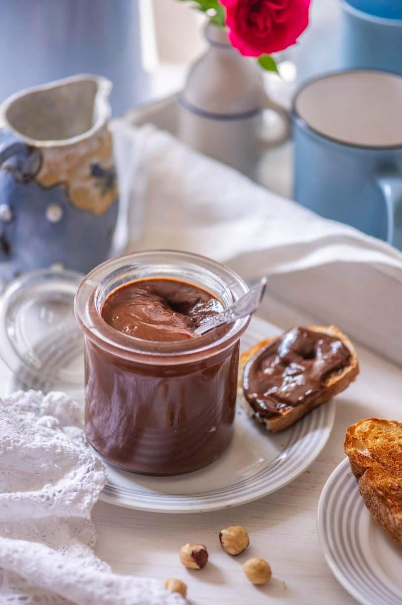 Kodutehtud Nutella ehk šokolaadiga sarapuupähklikreem