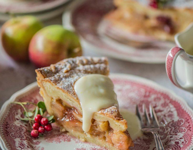 Briti õunakook Cheddar juustuga