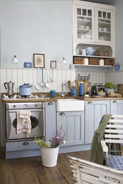 cute retro kitchen :: Coastal Kitchen Hardware Check! :: | Tuvalu Home