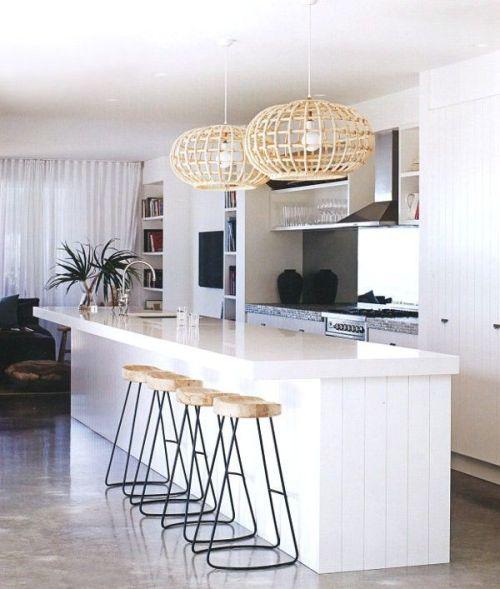coastal style kitchen modern coastal decor | Tuvalu Home