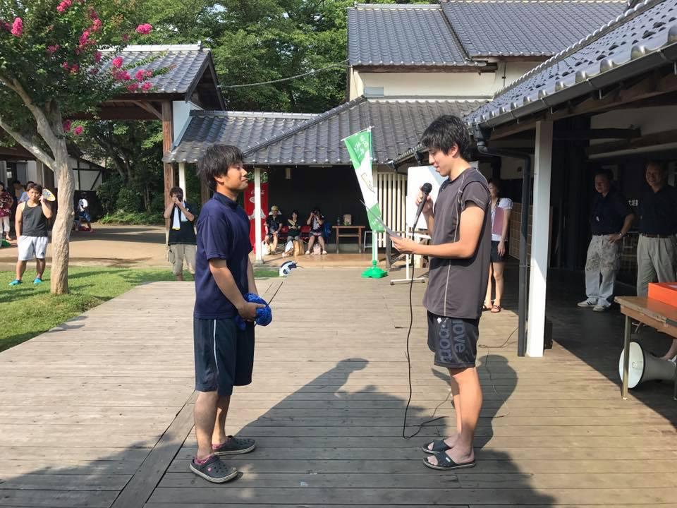 第3回どろんこバレーボール大会理事長賞