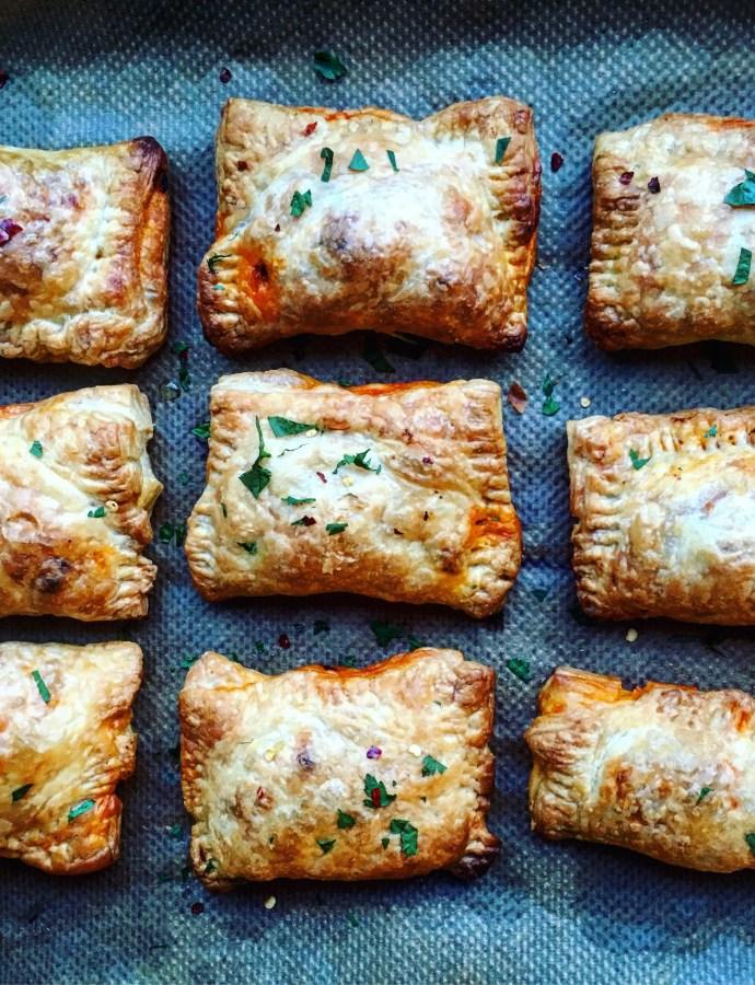 Smidigt med smördeg: enkla veganska pulled jackfruit empanadas, snabbpizza och tips på vad du gör med dina tacorester