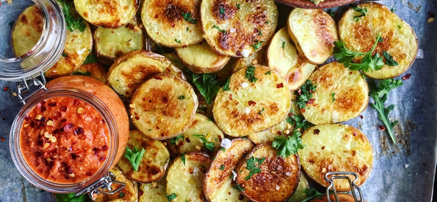 3 veganska och proteinstinna röror att äta till dina citron- och örtfries