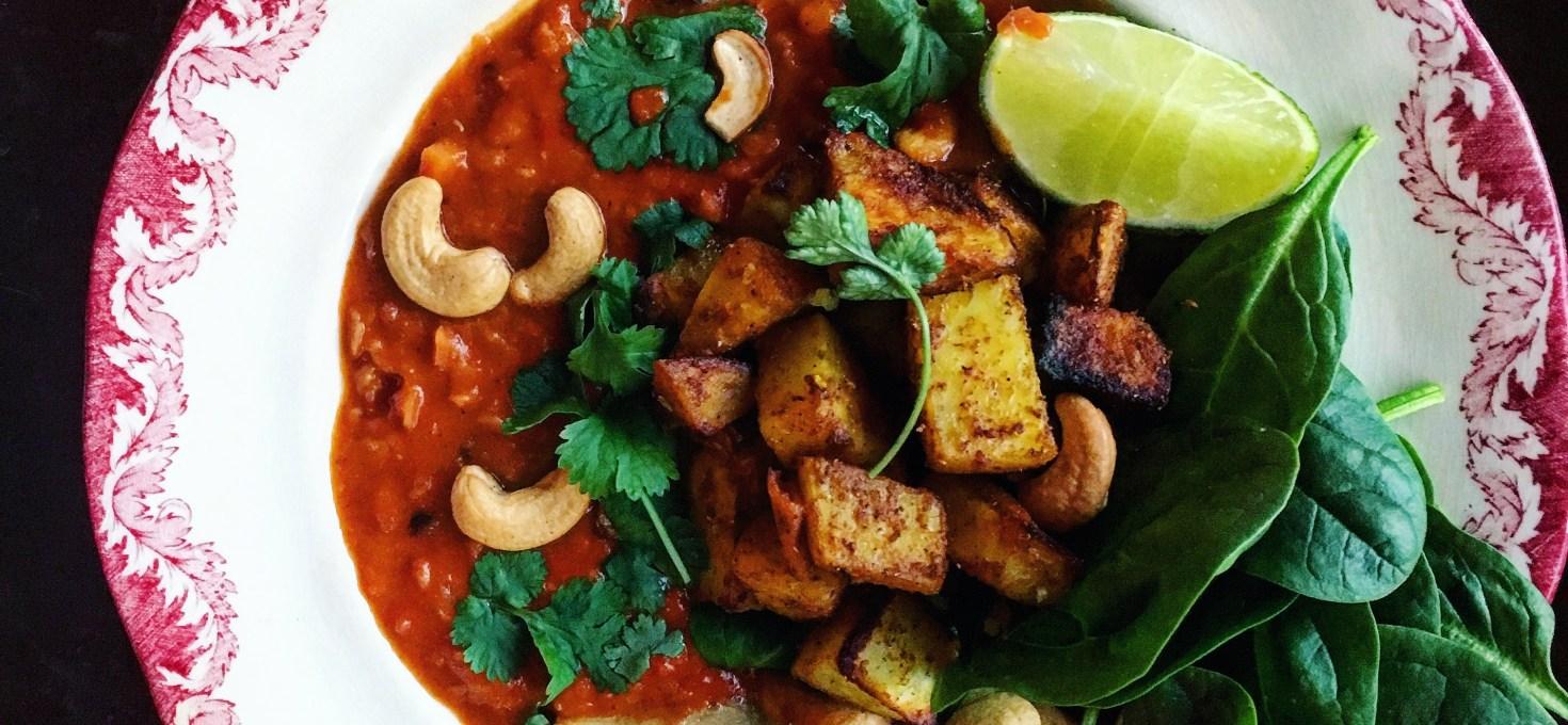 Indisk Daal med Rostad Bombaypotatis + mina 10 bästa baljväxtrecept