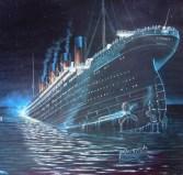"""""""Ni Dios puede hundirlo"""", era la leyenda de una placa que orgulloso lucía el Titanic."""