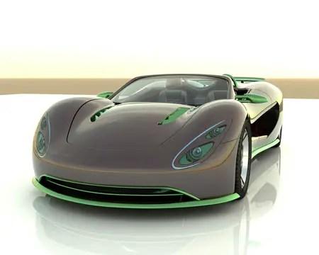 Scorpion Hydrogen Sports Car Concept Tuvie