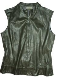 Chaqueta sin mangas (faux leather)