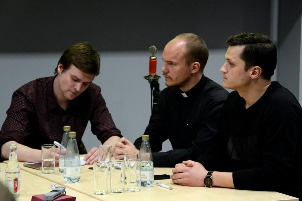 Viltus ziņas baznīcā - Diskusija Nacionālajā bibliotēkā