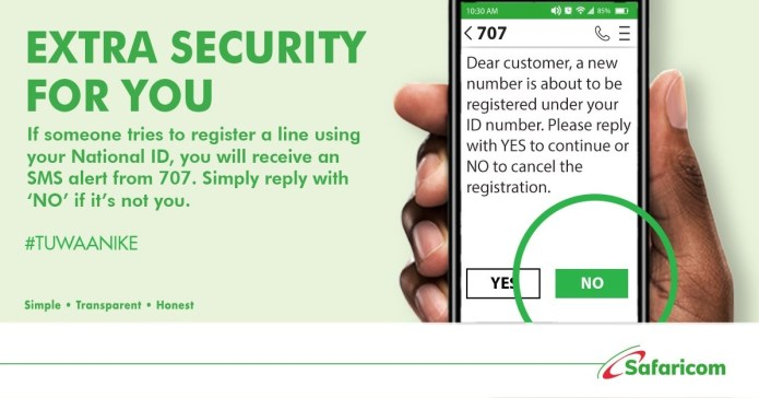 How to check Safaricom lines registered in Kenya using your National ID