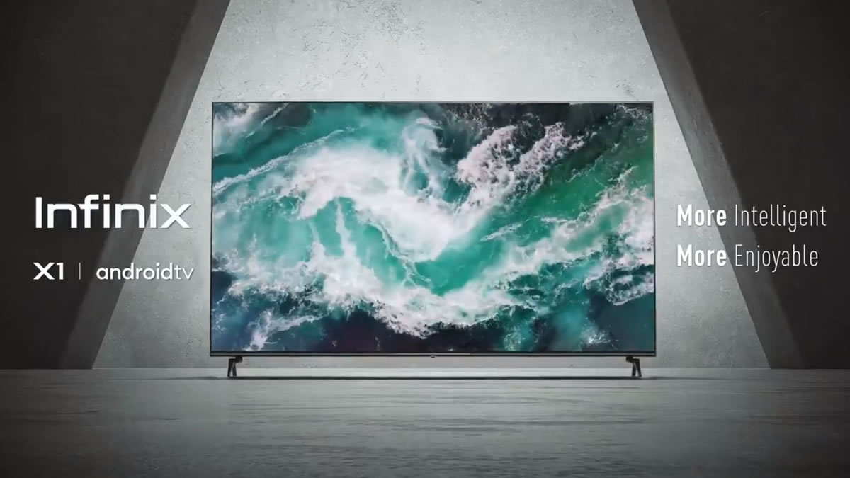 Infinix X1 smart TV's available in 32 and 43-inches, and come with android TV onboard | Tuvuti
