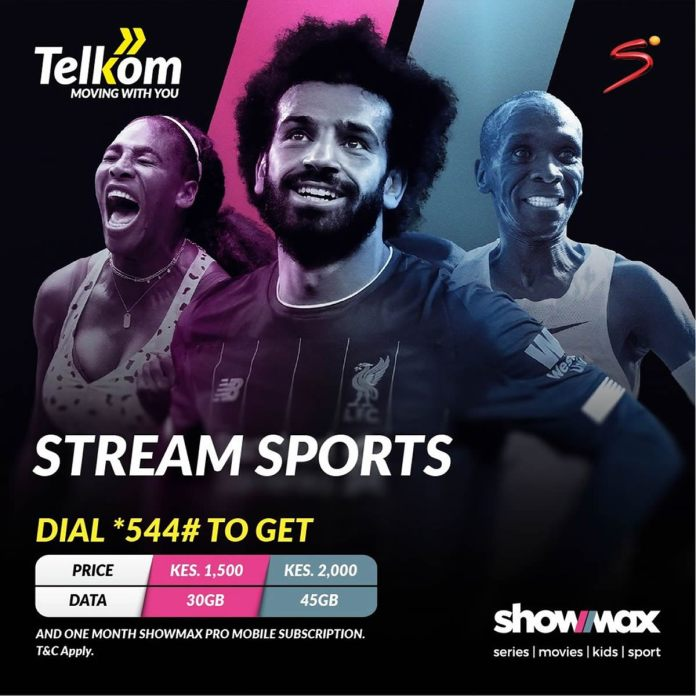 Telkom customers to livestream SuperSport channel with a free Showmax Pro mobile subscription