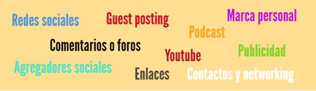promouvoir et diffuser le contenu du blog