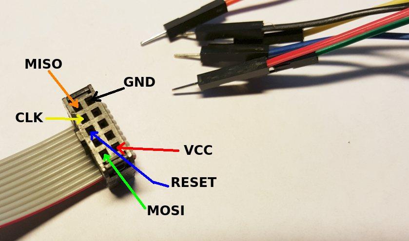 Using external programmers USBasp  Tuxamito