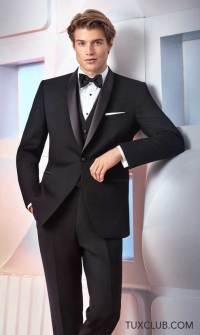 NEW Black Slim Fit Shawl Collar Tuxedo | Tux Shop | Tuxedo ...