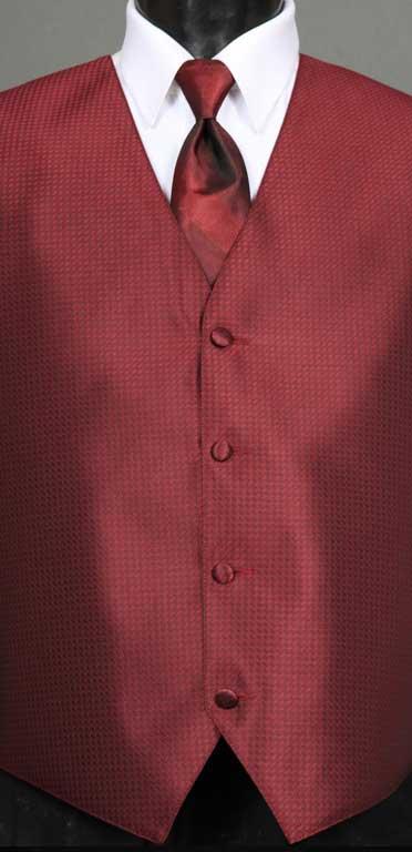 Apple Devon vest with Apple Ombre Windsor Tie