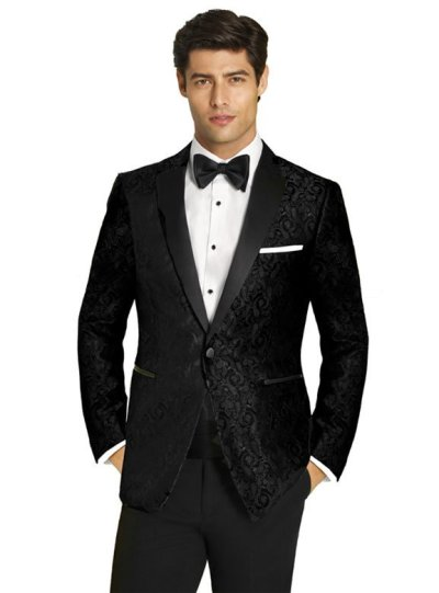 Black Parker Tuxedo by Ike Behar