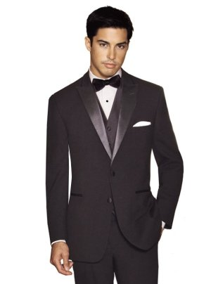 Black Rhodes Tuxedo by After Six Formals